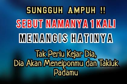 Mustajab !! Doa Pelet Ampuh Taklukkan Hati Wanita Dan Pria
