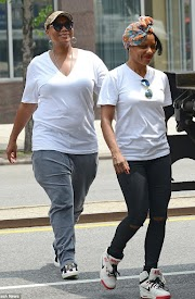 Queen Latifah and her girlfriend step out in New York
