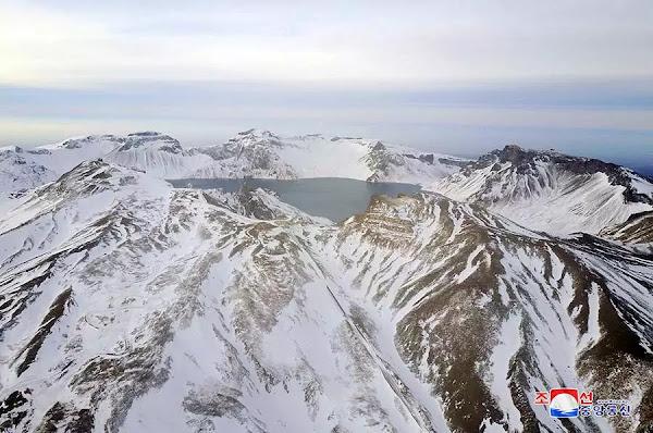 Sacred Mt Paektu