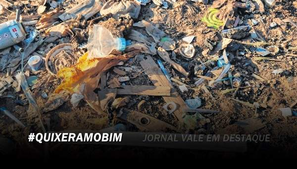 Descarte irregular de lixo hospitalar é flagrado no Quixeramobim