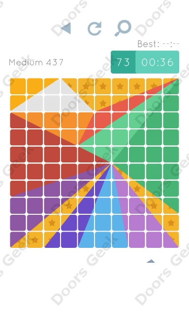 Cheats, Walkthrough for Blocks and Shapes Medium Level 437