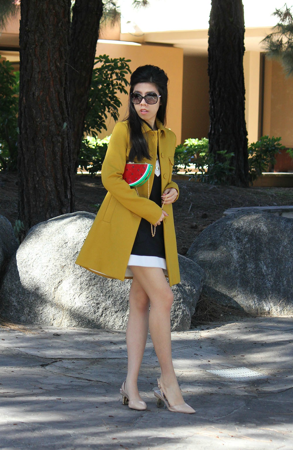 Adrienne Nguyen_Invictus_What to Wear with A Watermelon Bag _ Watermelon Clutch_California Fashion Blogger