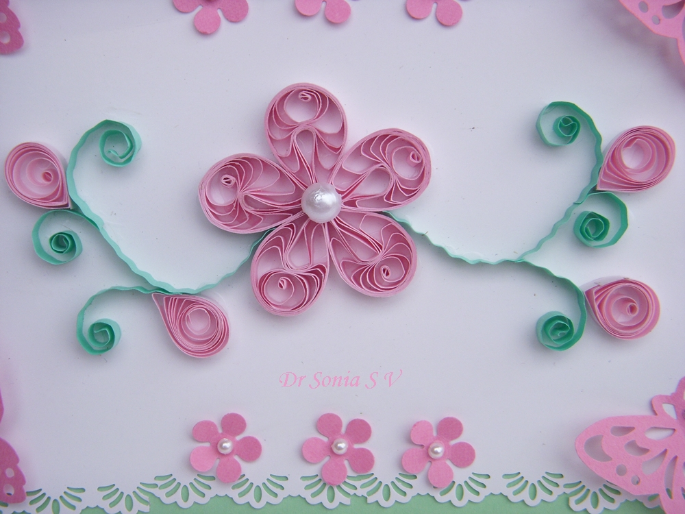 cards crafts kids projects quilled card and pop up card