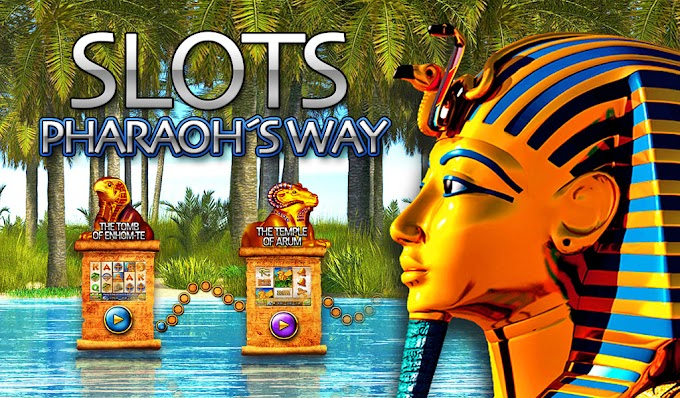 Game Slots Pharaoh's Way,  20 Slot Premium Di Dalamnya