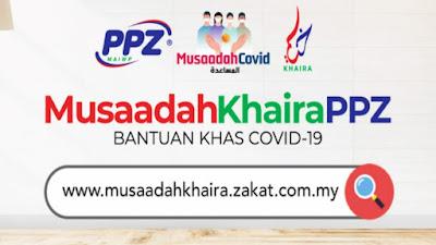 Permohonan Bantuan Musaadah Khaira PPZ 2020 Online (Tarikh Bayaran)