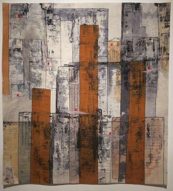 European Quilt Triennial - Lichter der Stadt by Regina Birk