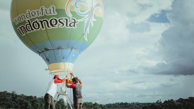 balon besar wonderful indonesia