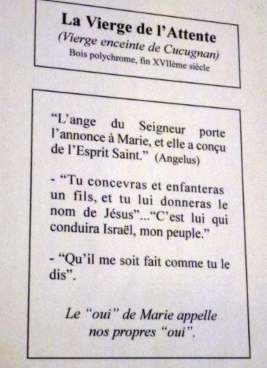 Depuis La Vierge De Cucugnan Veille Sur Son Village Dans Lglise Saint Julien Sainte Basilisse Couple