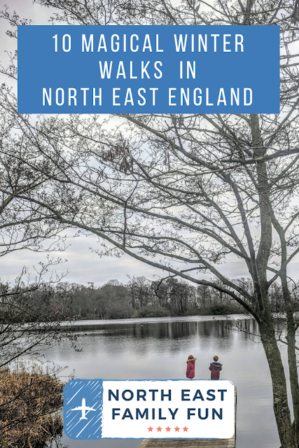 10 Magical Winter Walks for Children in North East England