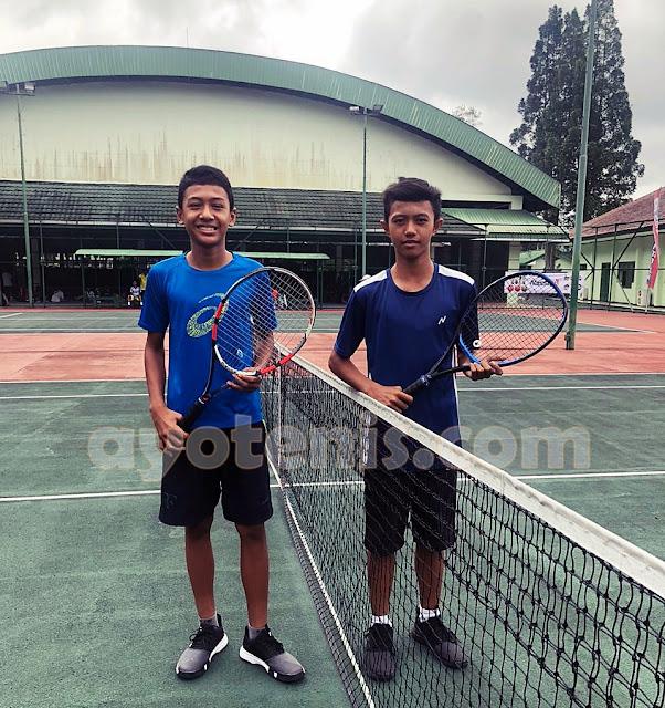 Leandra Maheswara Melenggang ke Kuarter Final Kejurnas Tenis Yunior New Armada Cup XXIV