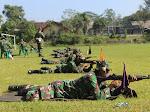Asah Kemampuan Prajurit, Kodim 0706/Temanggung Laksanakan Latihan Menembak