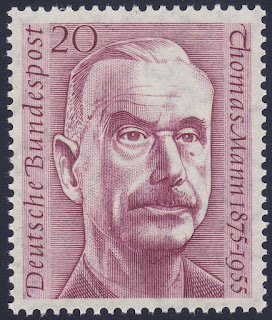 West Germany Thomas Mann Novelist 1st Anniversary of Death Issue