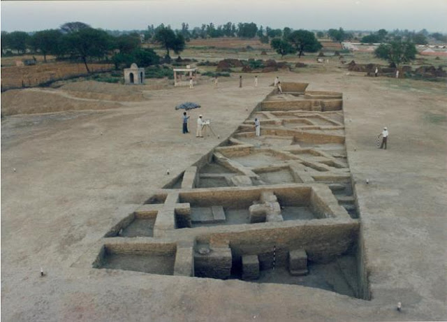 Evidence suggests Rakhigarhi was a major Harappan centre