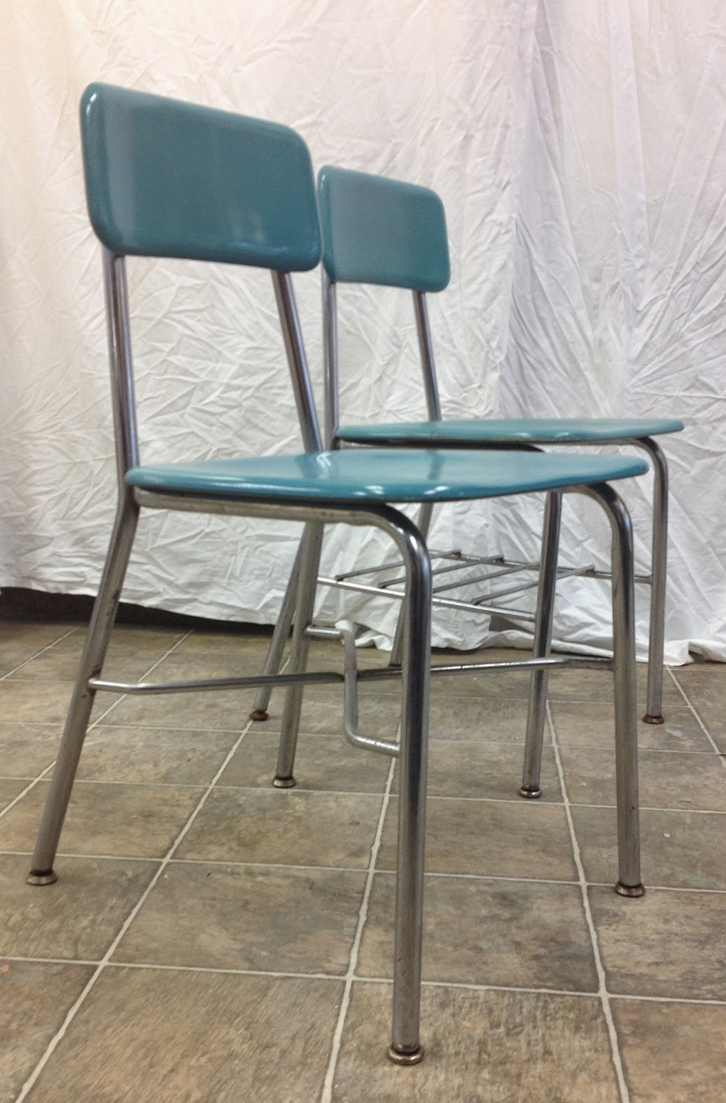 Heywood Wakefield Chairs Chair Cover Hire Dudley Time Capsule Pair 1960s