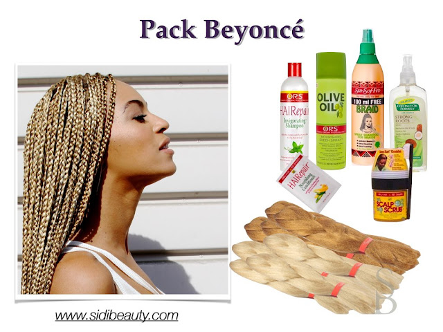 Beyoncé trenzas Box Braids