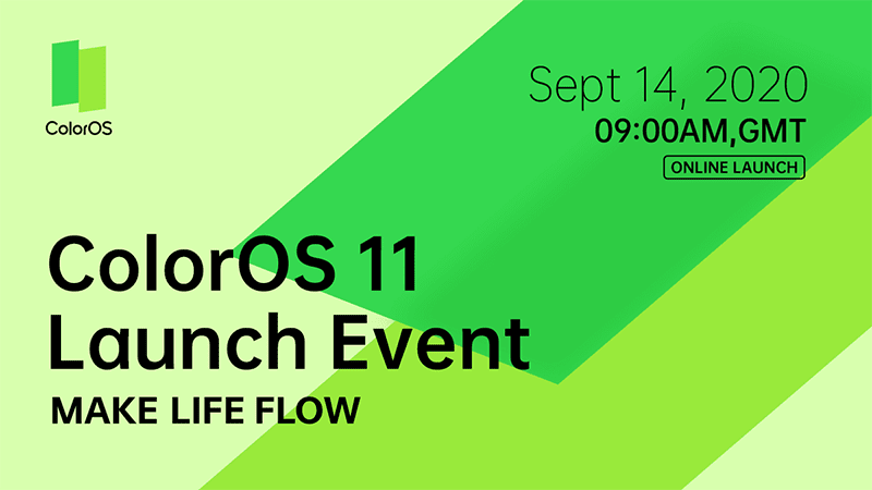 OPPO teases ColorOS 7 upgrade—ColorOS 11, to launch on September 14