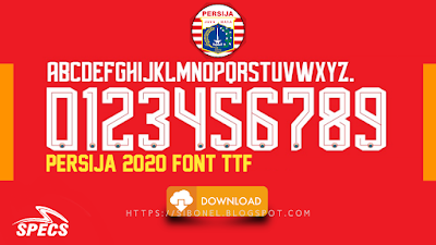 Font Persija 2020