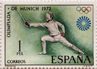 XX JUEGOS OLÍMPICOS MUNICH 1972. ESGRIMA