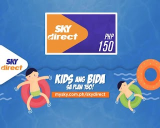 Sky Direct Plan 150 - With added Channels for Kids