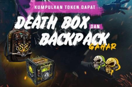 Hadiah Token Yellow Skull dan Mutated Skull Event Survival Day Free Fire