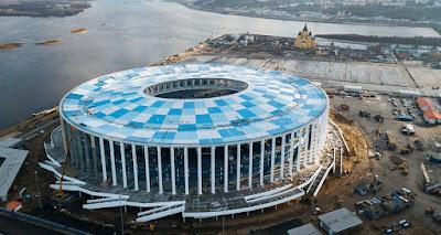 Stadion Nizhny Novgorod Rusia