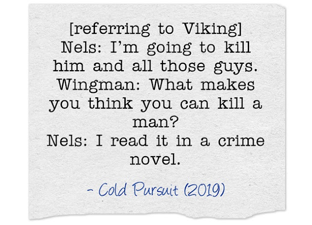 Nels: I read it in a crime novel