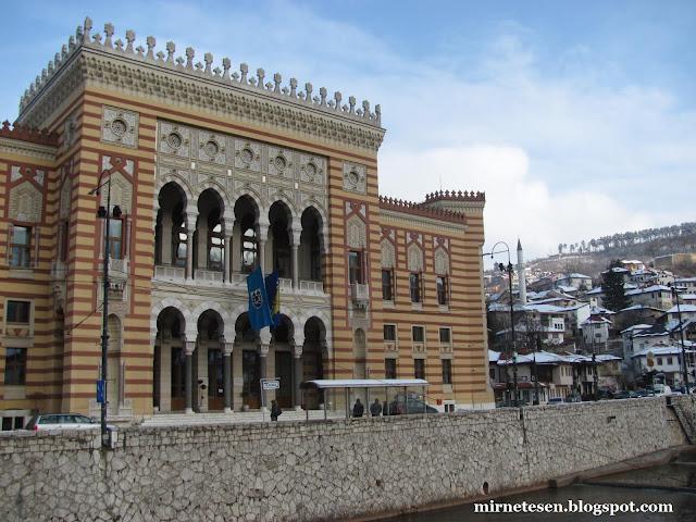 Сараево, здание городского правления