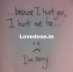 Sorry Status For Girlfriend/Boyfriend