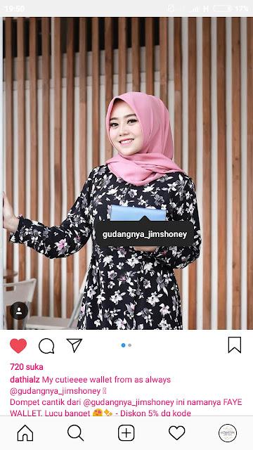 Endorse JH Faye Wallet Gudangnya Jimshoney