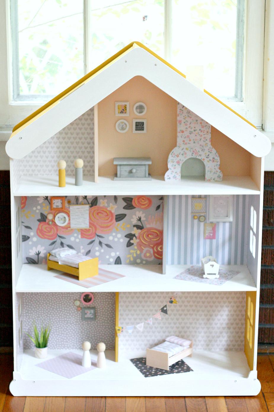 Diy Modern Dollhouse The Pretty Life Girls
