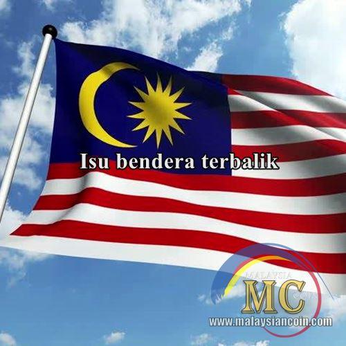 bendera terbalik