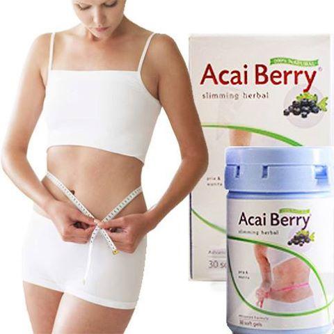 Obat Pelangsing Badan Acai Berry