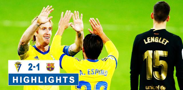 Cádiz vs Barcelona – Highlights