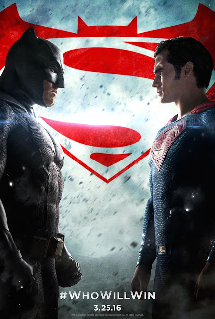 Batman v Superman, Dawn of Justice, Movie Poster, starring Ben Affleck, Henry Cavill, directed by Zack Snyder