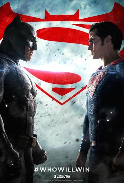 Batman v Superman, Dawn of Justice, Movie Poster, starring Ben Affleck, Henry Cavill, directed by Zack Snyder