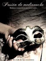 portada de la antología de relatos cortos Pasión de medianoche