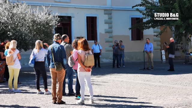 Απεργιακή συγκέντρωση εκπαιδευτικών στο Ναύπλιο
