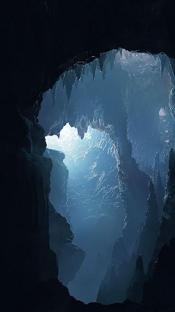 Caverna, Interior, Luz Do Sol