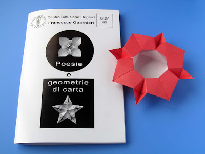 Origami, booklet QQM 60 and Scatola cristallina Crystalline box © by Francesco Guarnieri