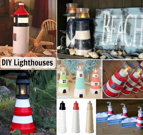 Make a Decorative Lighthouse