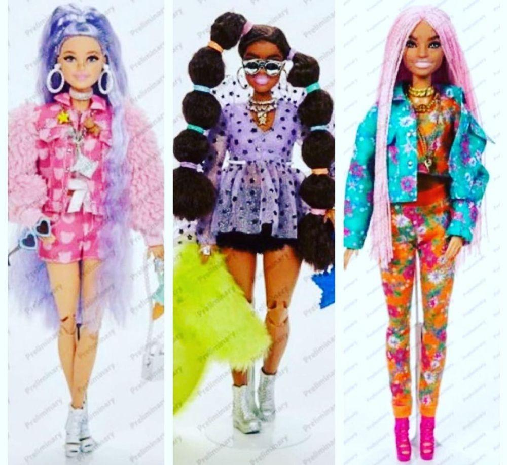 Фото Barbie Extra Wave 2 2021