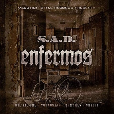 S.A.D. - Enfermos (2019) - Album Download, Itunes Cover, Official Cover, Album CD Cover Art, Tracklist, 320KBPS, Zip album