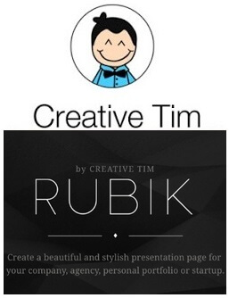 Rubik Presentation Page Discount Coupon