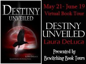 BLOG TOUR INTERVIEW: Destiny Unveiled by Laura DeLuca (1/4)