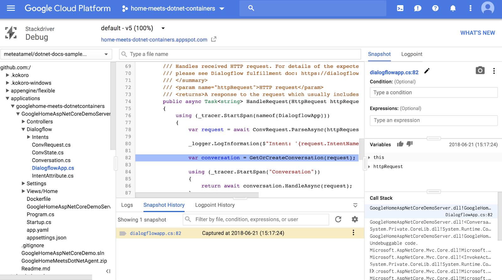 Google Cloud Platform Blog: Google Home meets  NET