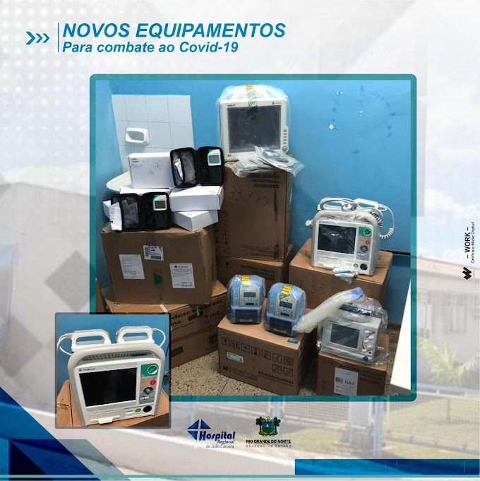 Hospital Regional de João Câmara: Aqui tem trabalho no enfrentamento ao Coronavírus