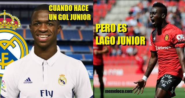 Vinicius Junior vs. Lago Junior