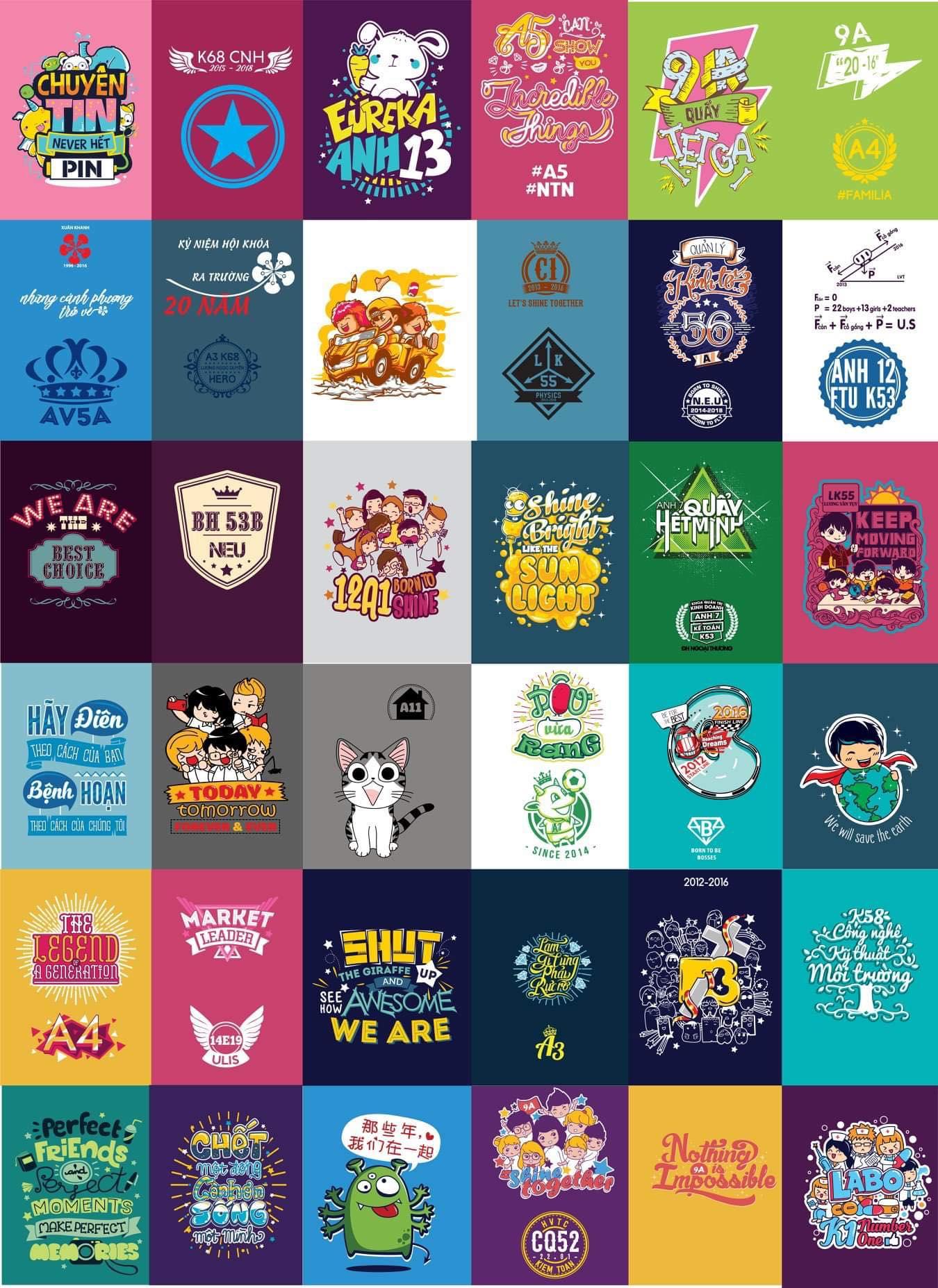 Mẫu logo in áo nhóm đẹp 2021 - Hình 5
