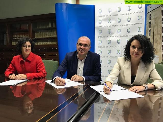 El Cabildo respalda el trabajo de AFEM con las personas con enfermedad mental