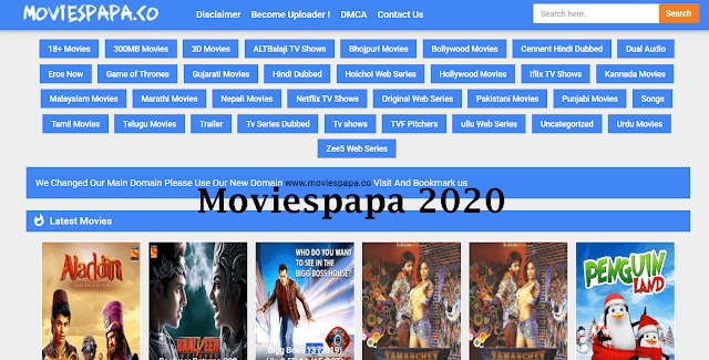Moviespapa 2020 - Download Bollywood Hollywood Dubbed HD Movies